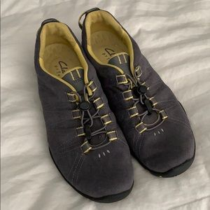 Clarks Provo suede sneakers